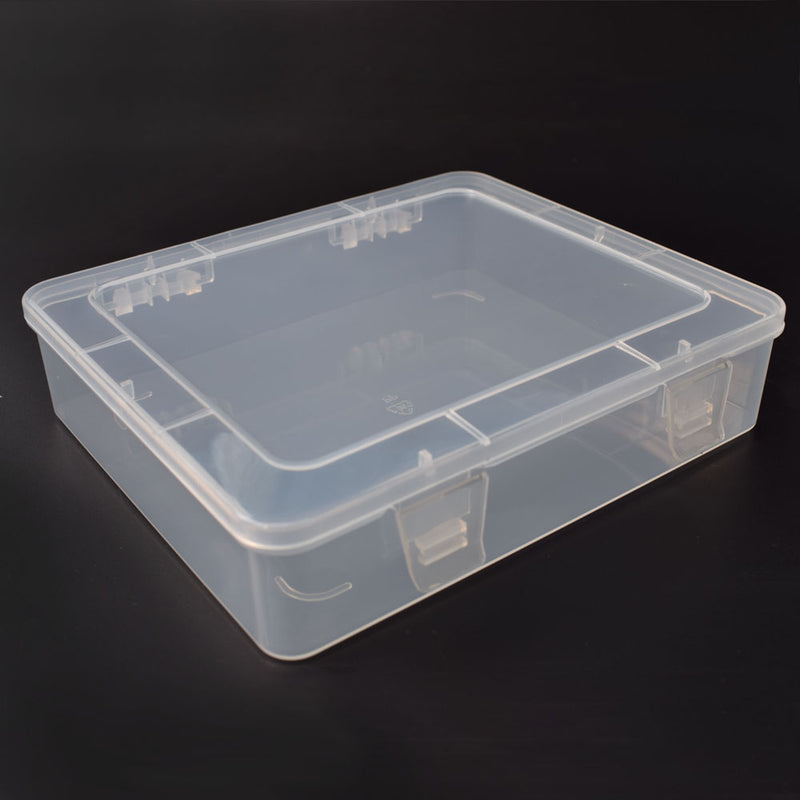 DIY Toolbox Electronic Plastic Parts Waterproof Transparent Tool Box SMD SMT Screw Containers Component Storage Case