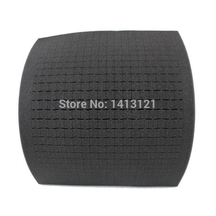 free shipping 47*35*5cmDIY Multifunction Toolbox shockproof sponge padding customized square grid sponge handlmade tool box part