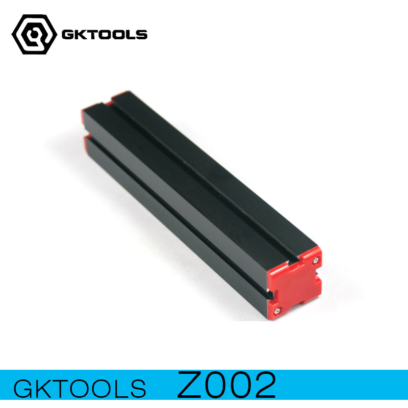 GKTOOLS, Z002 280mmx50mmx50mm Long Machine Bed, Aluminum alloys, Long Dock, Used for 6 in 1 Mini Lathe, Z002
