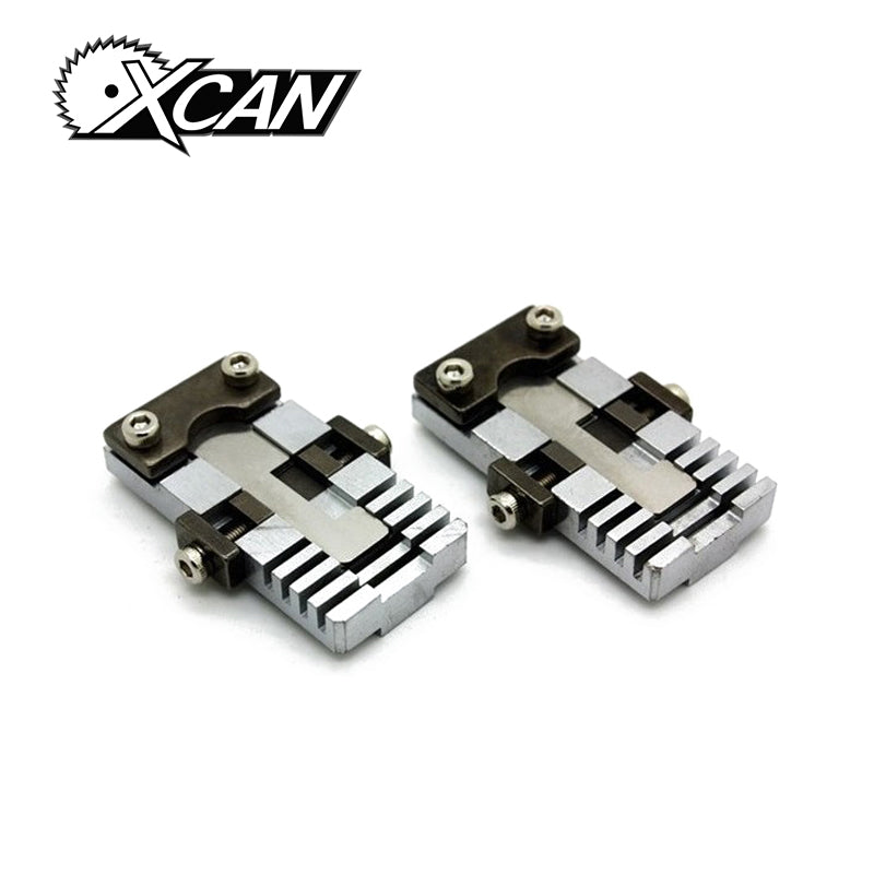 XCAN a pair vertical key chucking tools for special key.key clamp for car and special hard key cutting locksmith tools