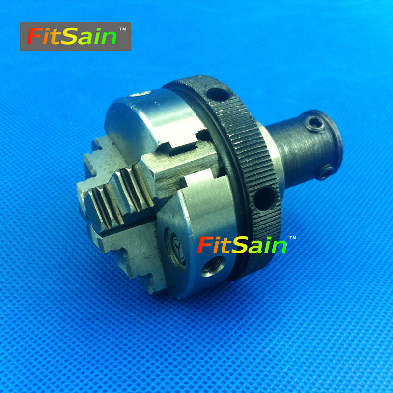 FitSain-Three jaw chuck D=50mm CNC mini SELF-CENTING maiually operated chuck Bench Lathe parts Used for motor shaft 8mm/10mm