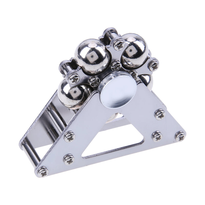 New silver Ferris Wheel Shape Triangle Support Rotary Bearing Screw Repair Tool