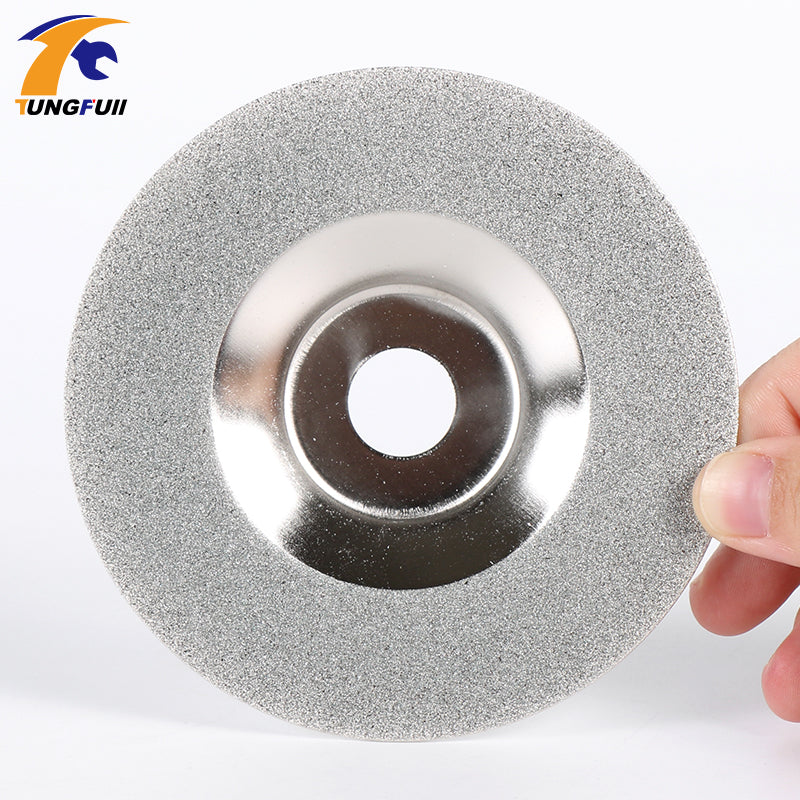 "Glass Diamond Grinding Disc 4"" Angle Grinder Wheel Cutting Disc Stainless Steel Metal Cutting Fast Shipping"