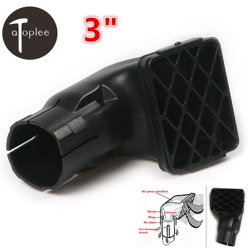 "Universal 1PCS 3"" Air Intake Road Replacement Mudding Snorkel Off Road Snorkel Head 15*10*17.6cm Air Intake Ram"