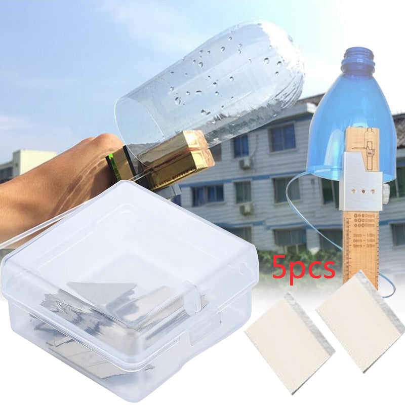5Pcs Plastic Bottle Cutter Machine Craft Tool DIY Kit Blade Accessories