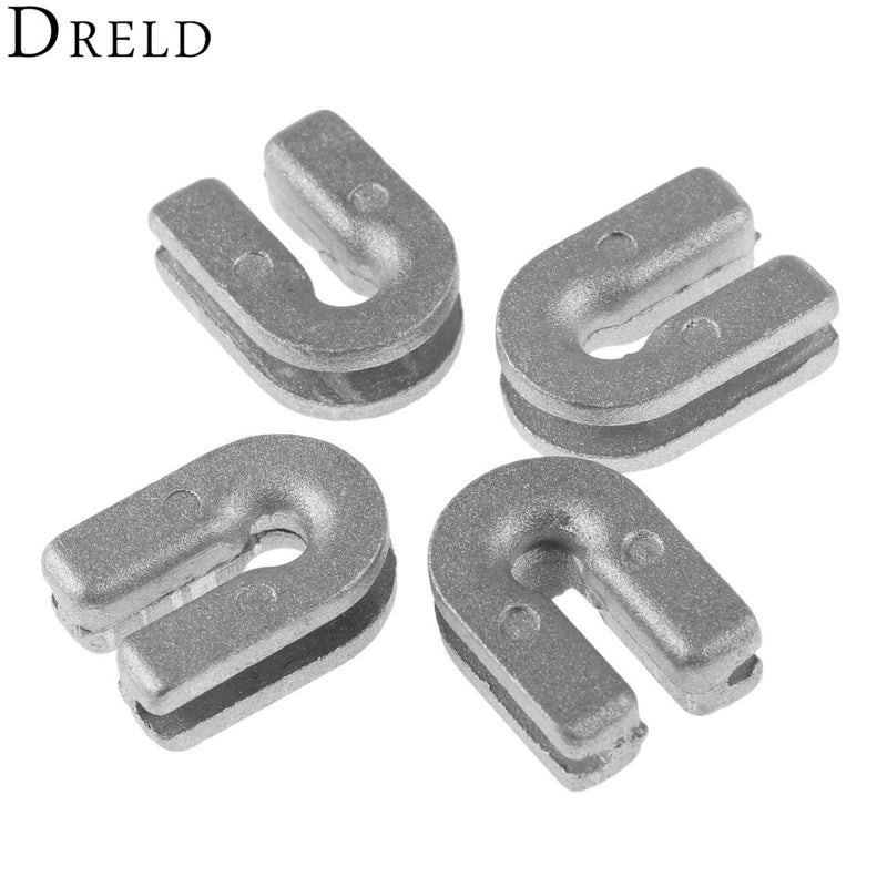 DRELD 4Pcs Trimmer Head Eyelet for T25 T35 Trimmer Head Line Brush Cutter Spare Parts Nylon Grass Trimmer Head Replacement Parts