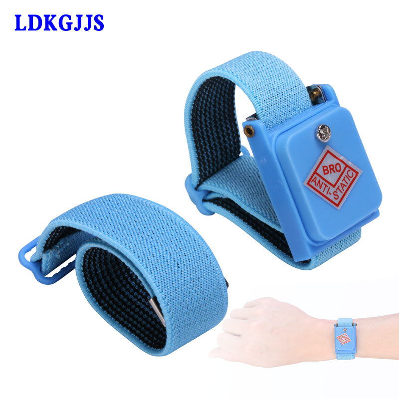 ESD Anti Static Cordless Wrist Strap Elastic Band For Sensitive Electronics Repair Tools