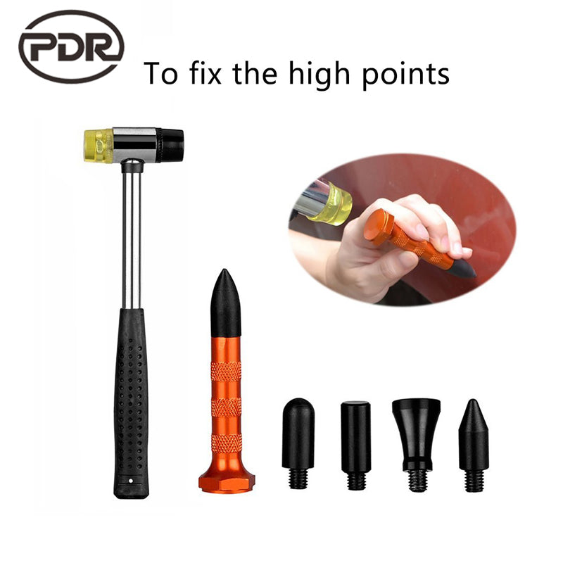 PDR Tools Kit Dent Removal Tap Down Tools Knock Down Tool Kits Metal Pen Hammer Paintless Dent Repair