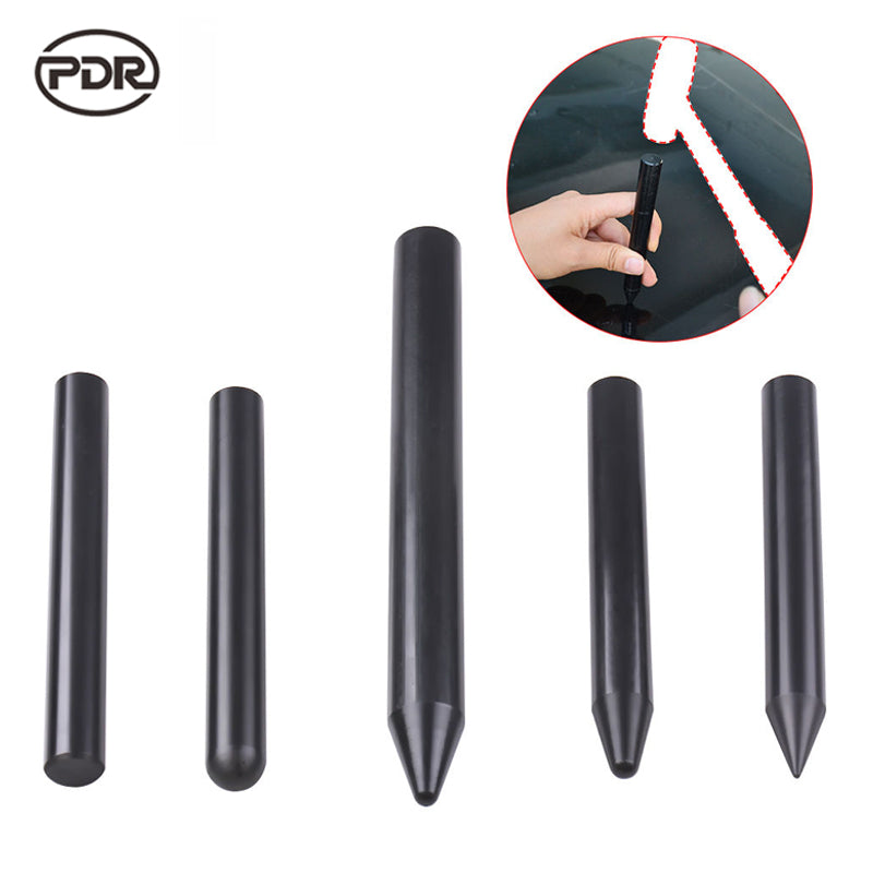 PDR Tools Kit Paintless Dent Repair Tools Dent Removal Tap Down Knock Down Tools Black Nylon Pen Hand Tool Sets