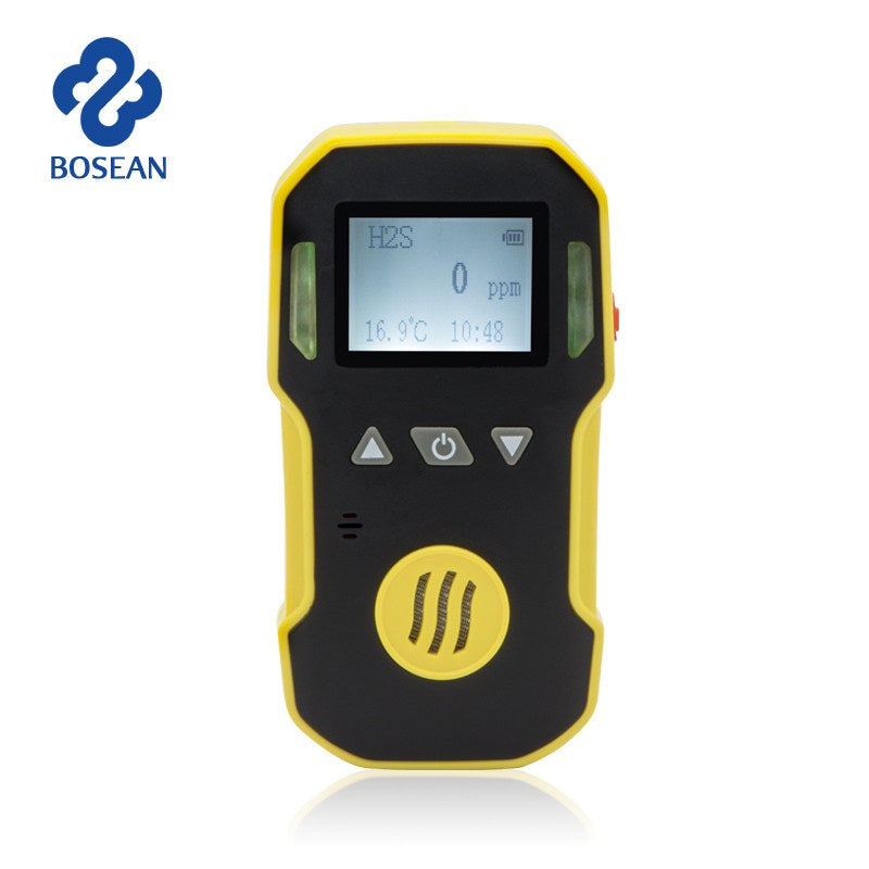 Gas Detector NO2 Nitrogen Dioxide Gas Analyzer with Alarm System Gas Leak Detector Professional NO2 Air Monitor Gas Sensor