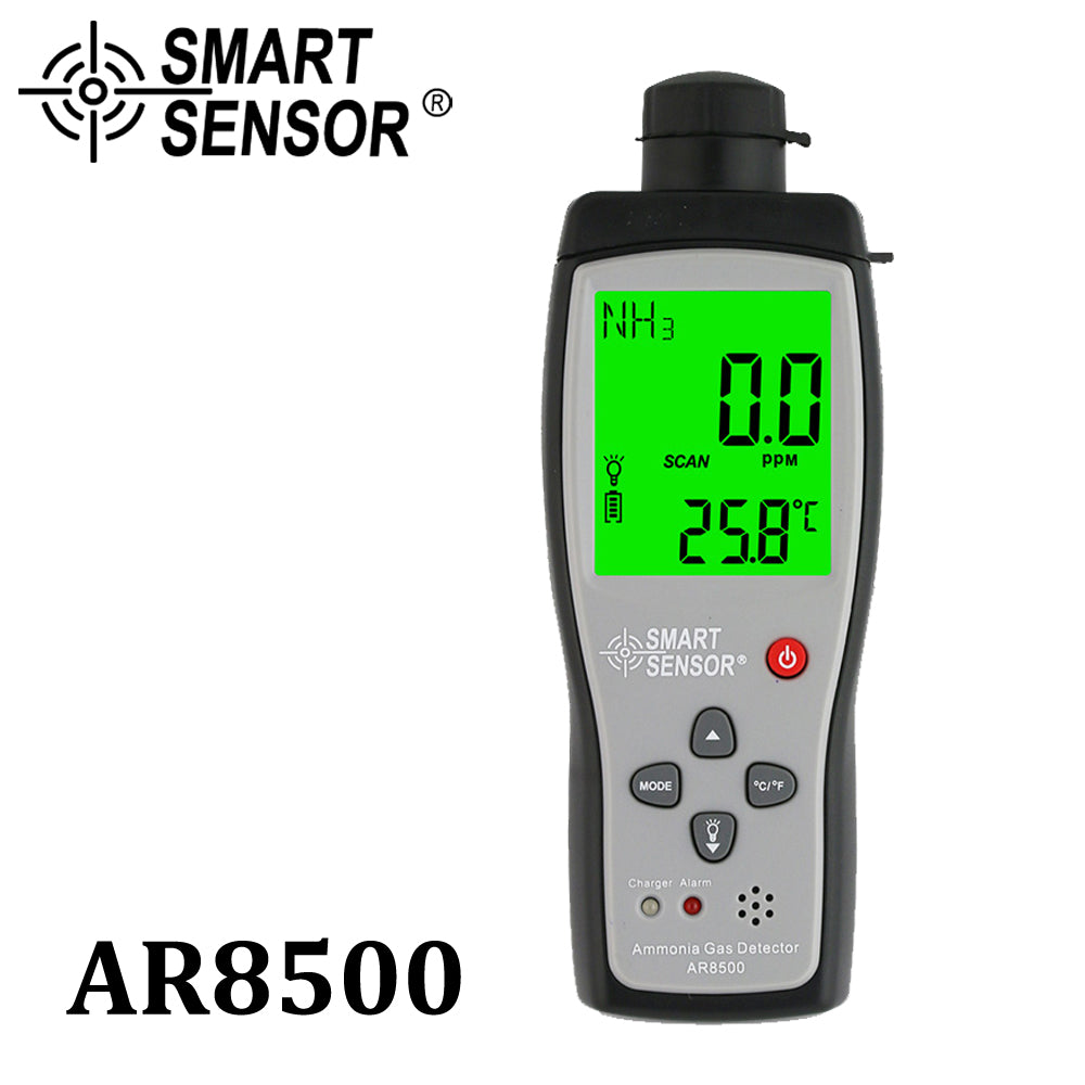 Handheld Ammonia Gas NH3 Detector Meter Tester Monitor Range 0-100PPM Sound Light Alarm Gas Analyzers
