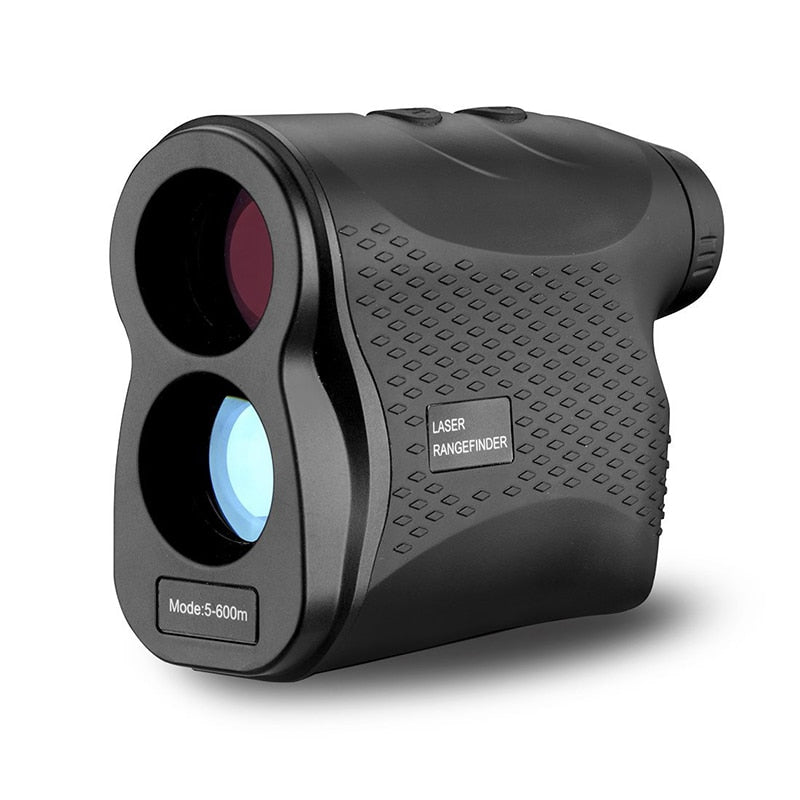 POTENCO 600m-1500m 6X Golf Laser Rangefinder Telescope Angle Range Finder For Hunting Speed-Heightangle Measuring Tool Telemetre