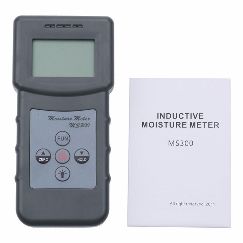 2017 New MS300 Digital moisture meter concrete wall moisture analyzer ground moisture meter floor moisture detector