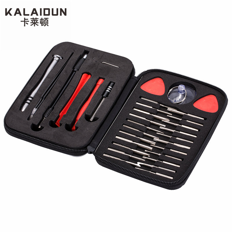 KALAIDUN 32 in 1 precision multi-function screwdriver set maintenance of mobile phones small computer disassemble hand tools set