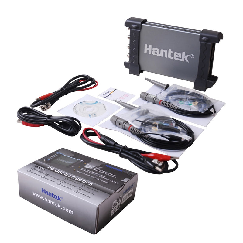 Hantek PC 6074BC Based 1GSa/s 4Channels USB Digital Storage Oscilloscope 4CH 70Mhz Bandwidth