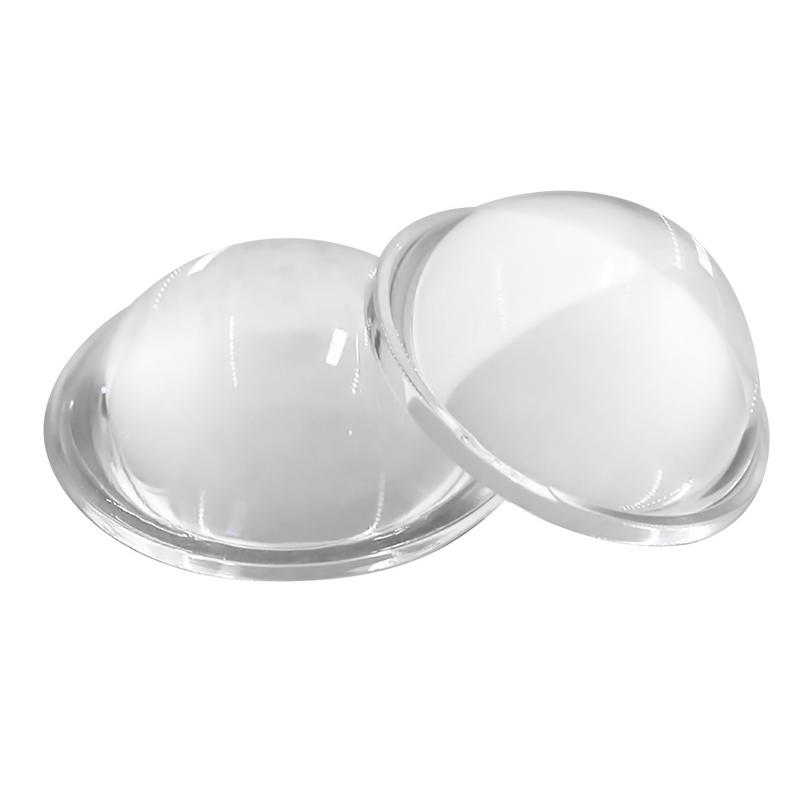 LED Lens 30/44/54/66mm Plano-Convex Glass Lens LED Convex Lens Condenser Optical Focusing