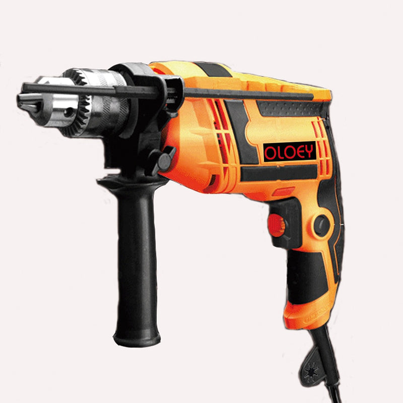 220V 3000rpm Speed Adjustable Impact Drill Electric Hammer Electric Drill Power Drill Woodworking Power Tool