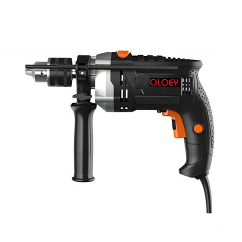 Electric drill home impact drill 220v multi-function electric tool hand drill electric to small electric hammer
