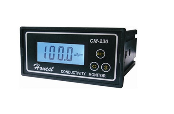 Industrial Online Conductivity Monitor Tester METER Analyzer auto-ranging  auto zero  ATC CM-230 Free Shipping