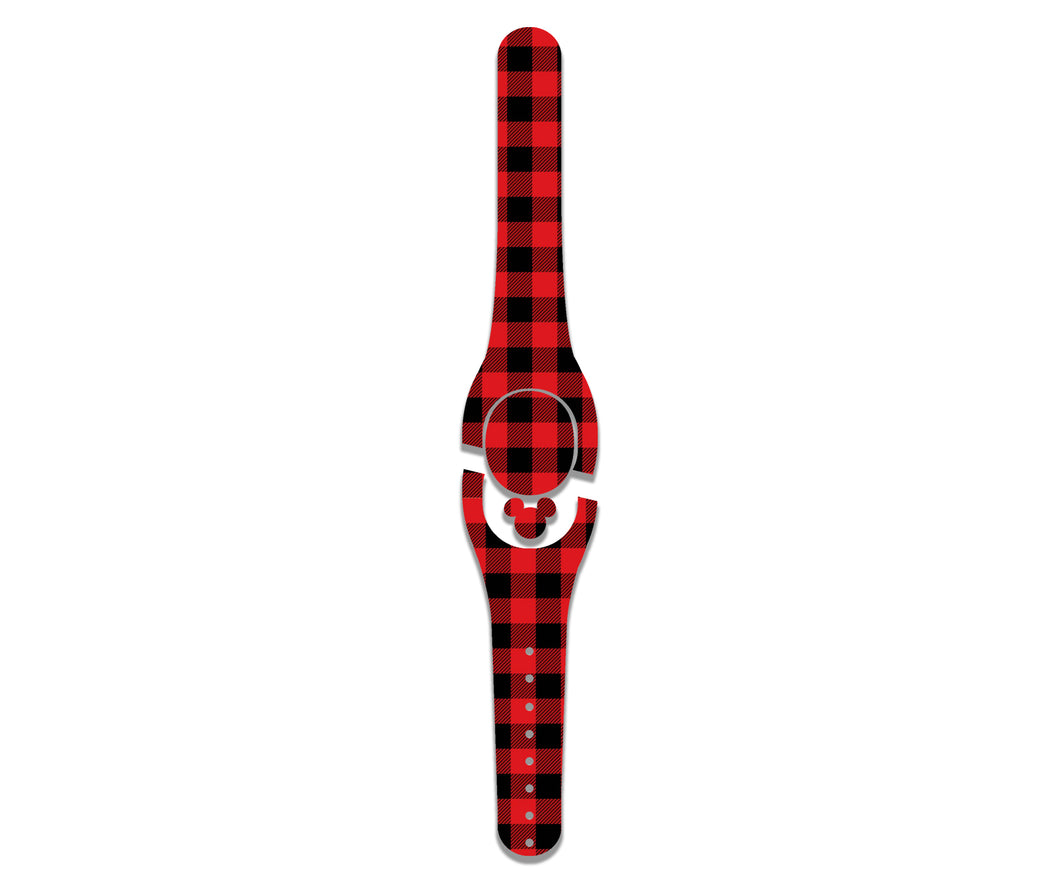 Buffalo Plaid Decal for MagicBand