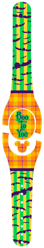 Boo To You Halloween Decal for Magic Band