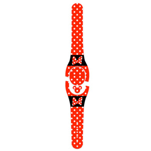 Red Miss Mouse Decal for Magic Band