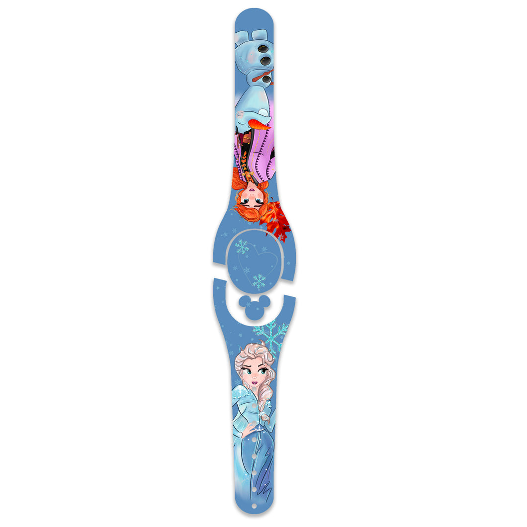 Ice Queen 2 Decal for Magic Band