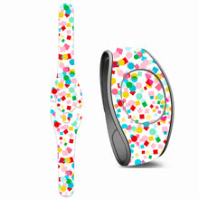 Birthday Confetti Decal for Magic Band