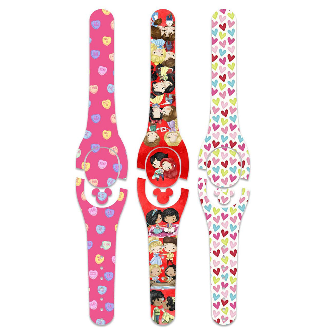 Be My Valentine Decal for MagicBand