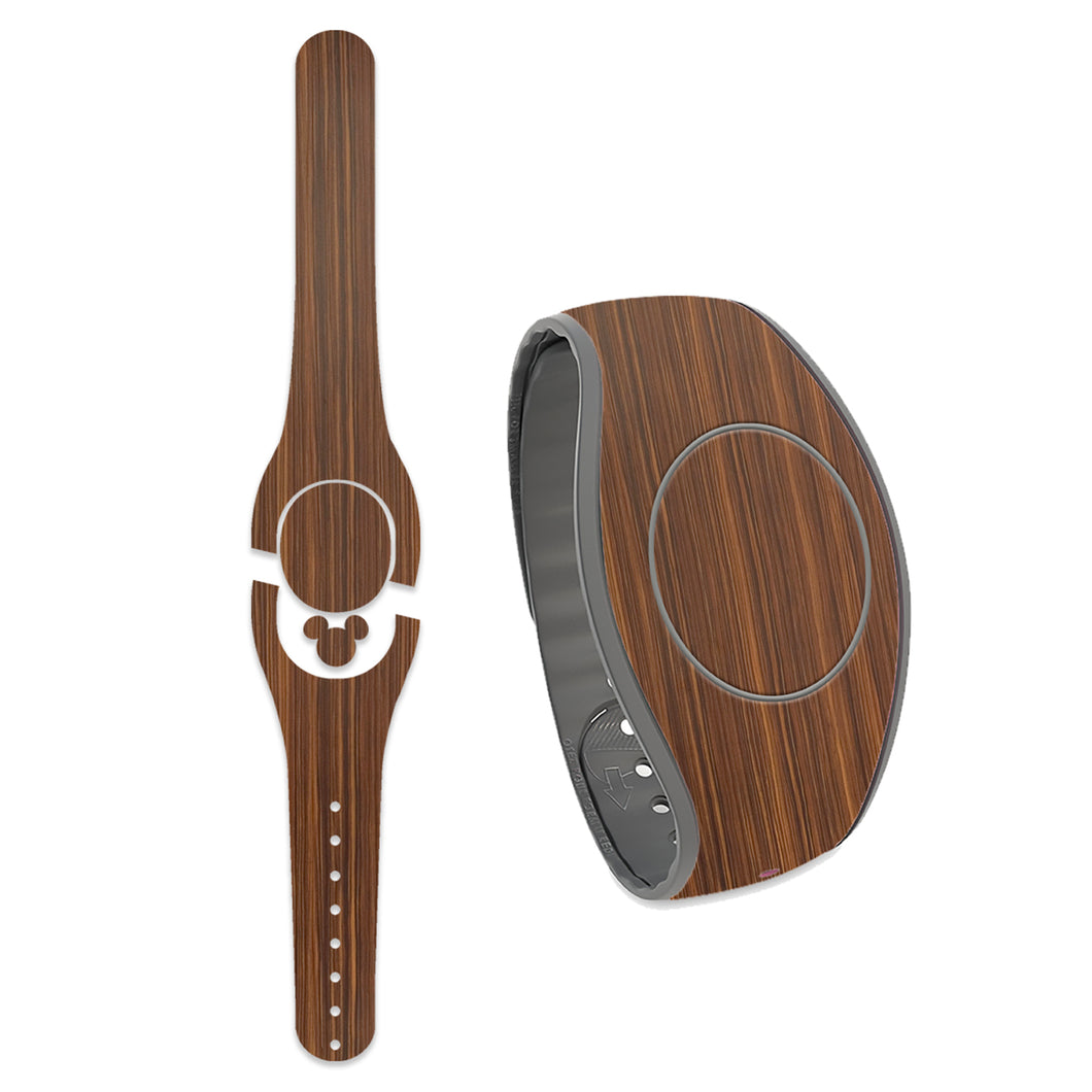 Stained Wood Grain Decal for MagicBand
