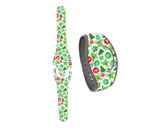 A Very Preppy Christmas Decals for MagicBand