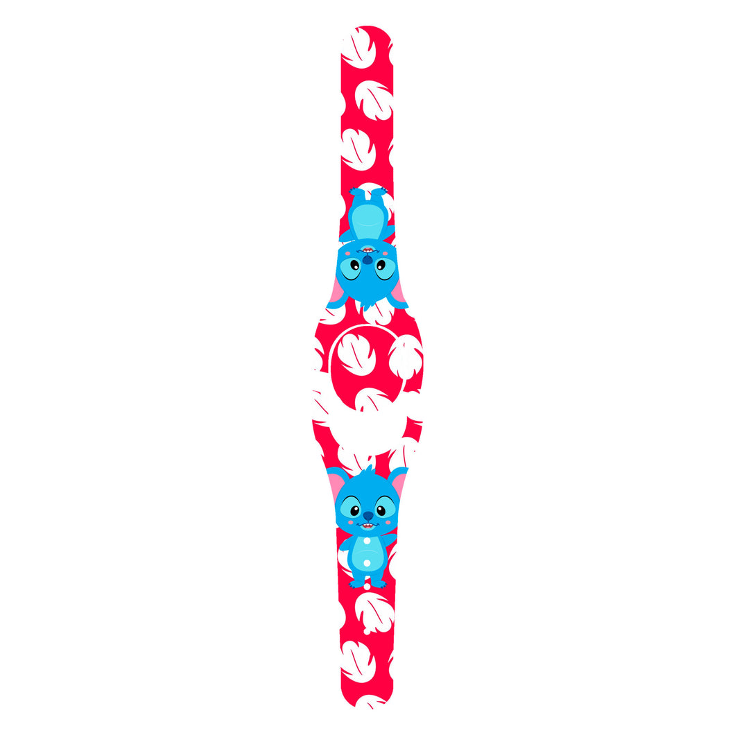 Blue Guy Floral Decal for MagicBand