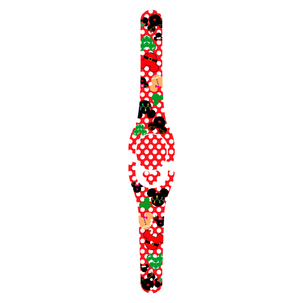 Christmas Polka Dot Decal for MagicBand