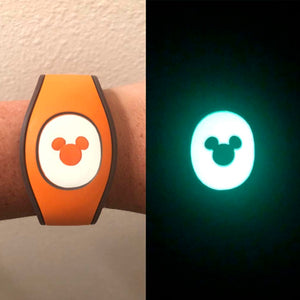 Glow in the Dark Cutout Puck Decal for MagicBand