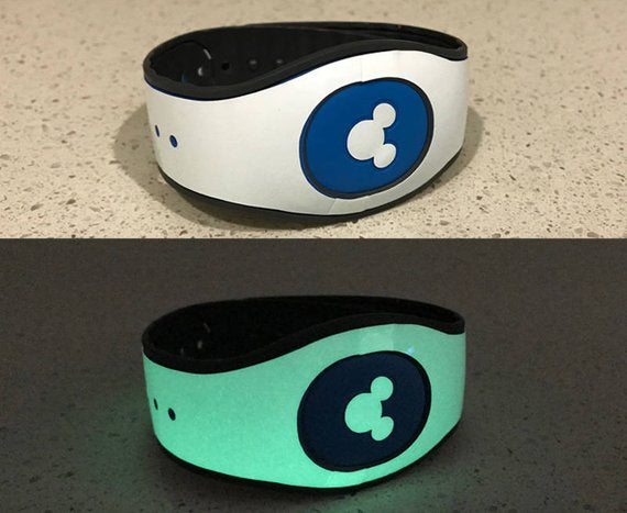 Glow in the Dark Magic Band Decal Wrap