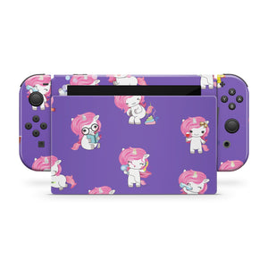 Unicorns Nintendo Switch Skin