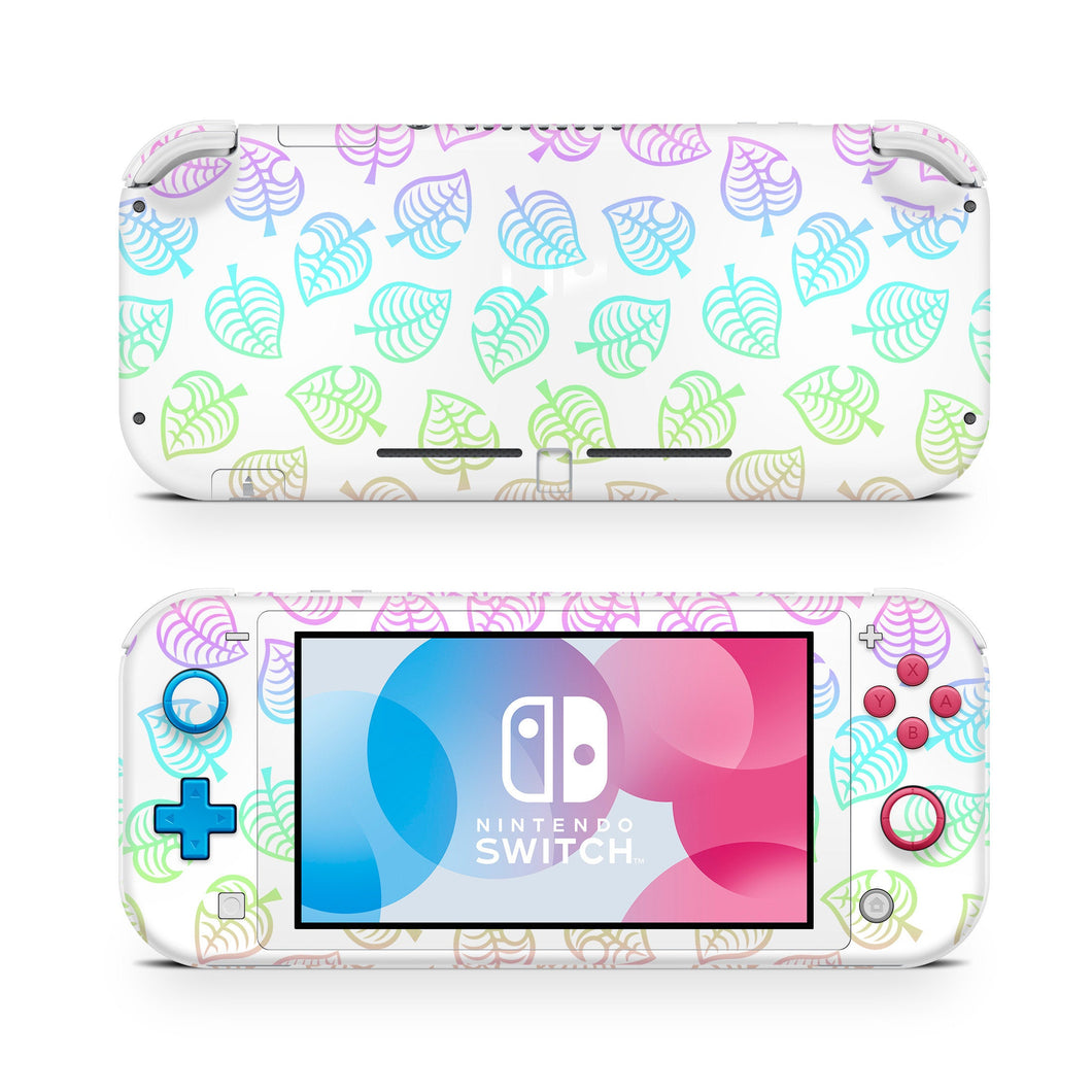 Ombre Leaf Nintendo Switch Lite Skin