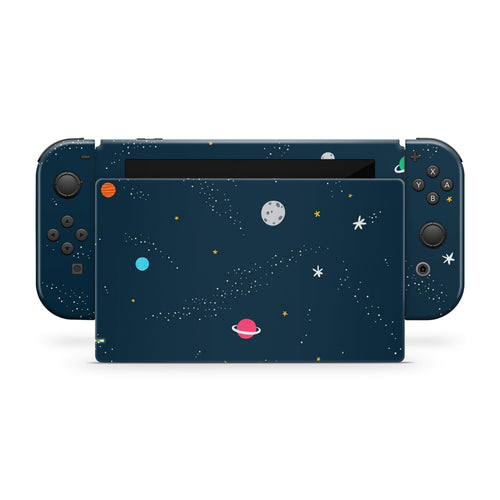 Planets Nintendo Switch Skin