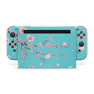 Japanese Cherry Blossom Nintendo Switch Skin
