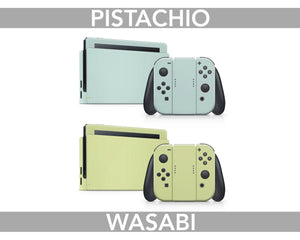 Pastel Solid Color Nintendo Switch Skin
