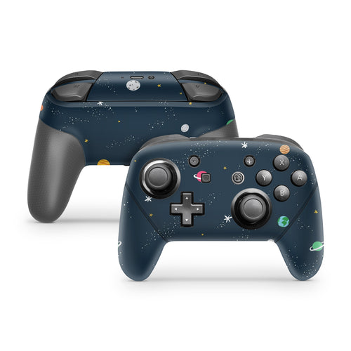 Planets Nintendo Switch Pro Controller Skin
