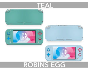 Solid Pastel Colors Nintendo Switch Lite Skin
