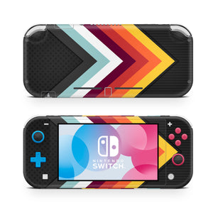 Retro Arrow Nintendo Switch Lite Skin