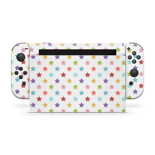 Stars Nintendo Switch Skin