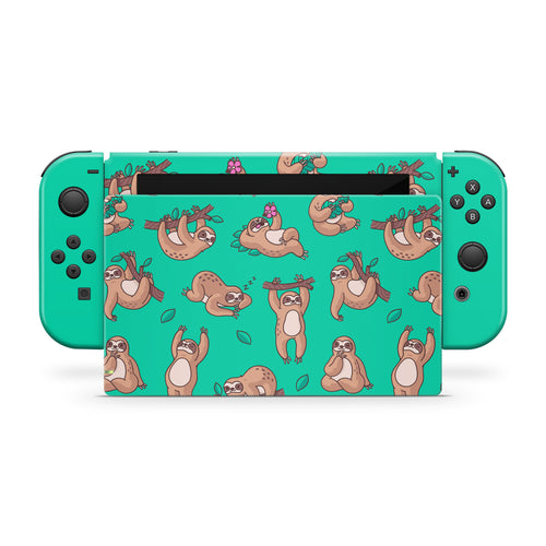 Sloths Nintendo Switch Skin