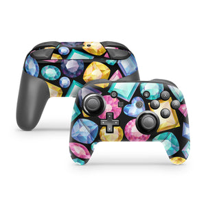 Jewels Nintendo Switch Pro Controller Skin