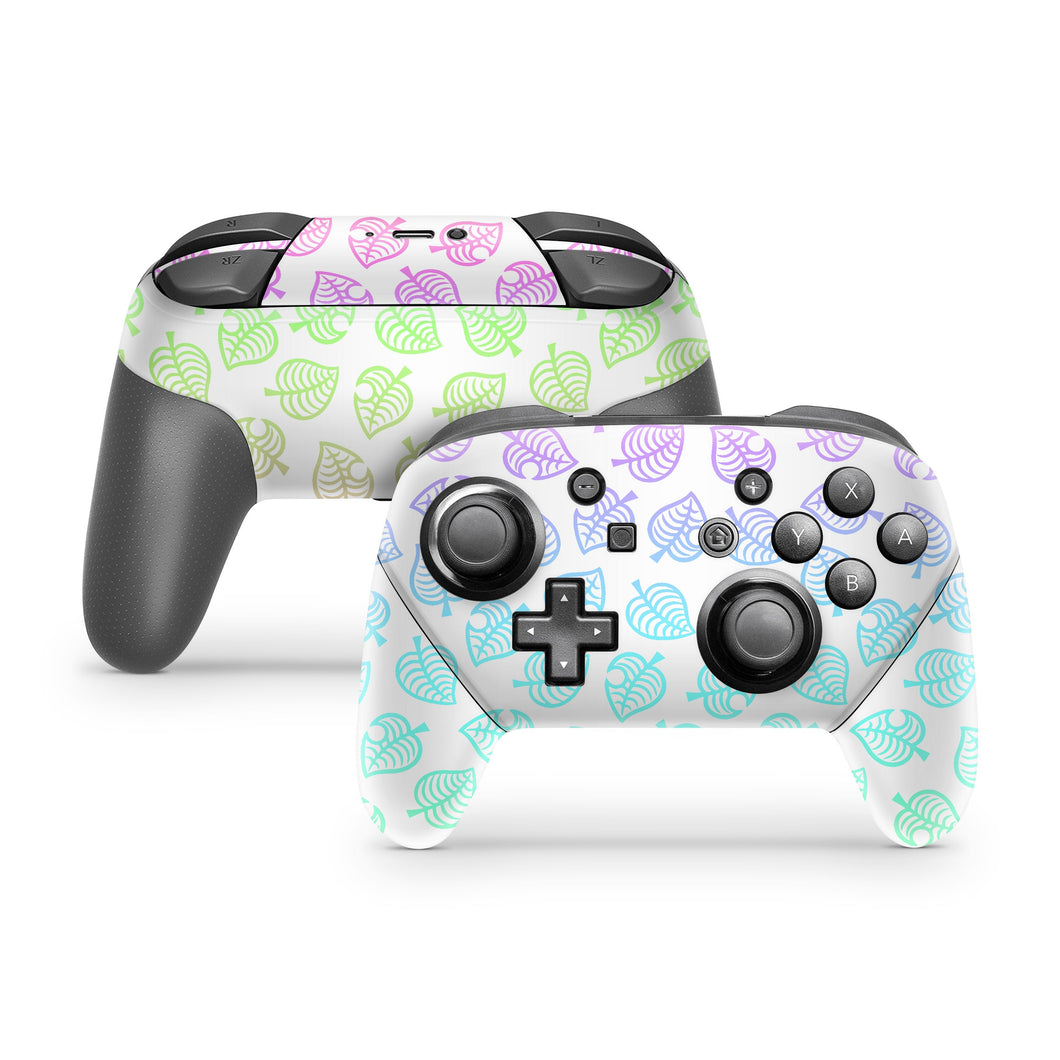 Ombre Leaf Nintendo Switch Pro Controller Skin