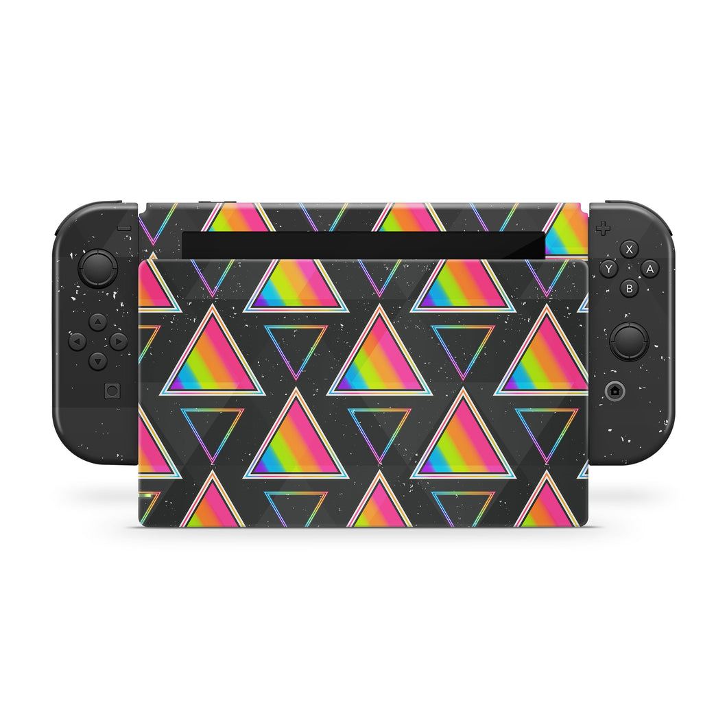 Space Triangles Nintendo Switch Skin