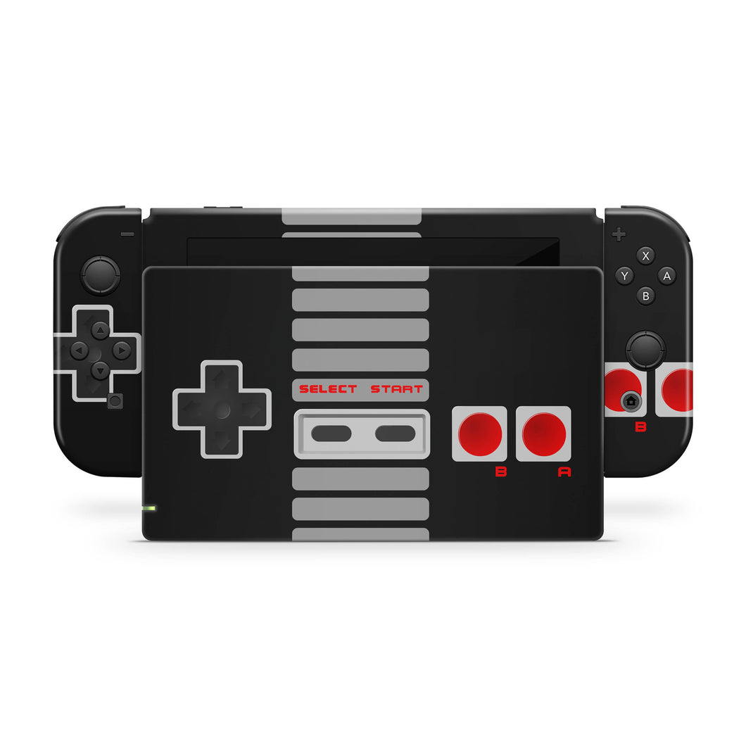 Retro Gaming Nintendo Switch Skin
