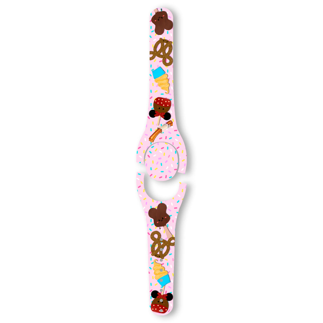 Pink Sprinkle Treats Decal for MagicBand